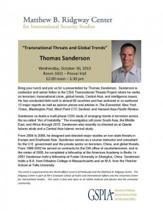 Transnational Trends and Global Threats